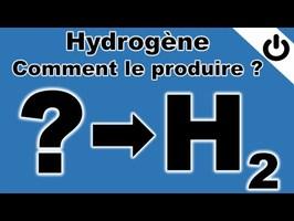 Hydrogène: comment le produire ? - ÉNERGIE#16