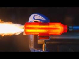 Hybrid Rocket Engine (3D printed Fuel)