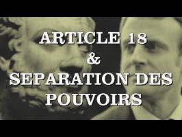 La Pinte Politique #06 - MACRON, ARTICLE 18 et SÉPARATION DES POUVOIRS