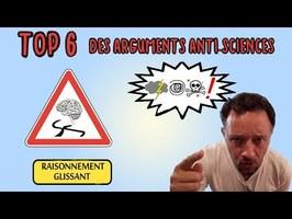 TOP 6 DES ARGUMENTS TOUT POURRIS QU'ON REPROCHE GÉNÉRALEMENT AUX SCIENTIFIQUES (Ft Astronogeek) #31
