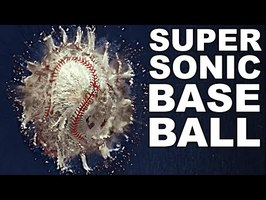 SUPERSONIC BASEBALL Cannon (World's Fastest Baseball) - Smarter Every Day 242