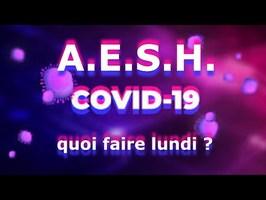 AESH et ÉCOLES FERMÉES - COVID-19