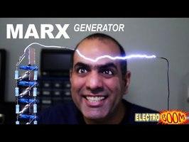 Making 500,000 VOLT ARC with Marx Generator