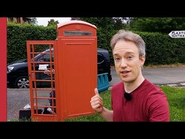 The Shocking New Use for Red Telephone Boxes