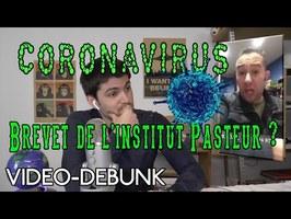 Coronavirus : Le brevet de l'Institut Pasteur ?