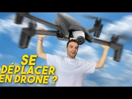 Se déplacer en drone ? Vrai ou faux