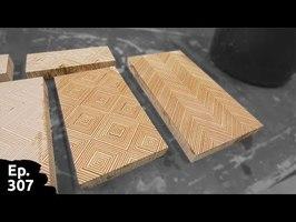 Création de damas de contreplaqué, utilisation créative de vos chutes de bois contreplaqué - Ep307