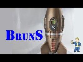 Grosse Fusée De Bronze