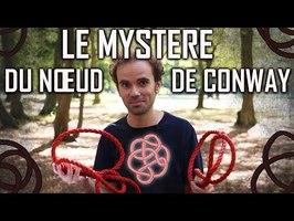 Une énigme de 50 ans résolue : le nœud de Conway n'est pas bordant - Micmaths