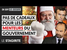 PAS DE CADEAUX POUR LES MENTEURS DU GOUVERNEMENT
