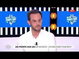 Clément Viktorovitch : Macron, un discours pour rien ? - Clique - CANAL+