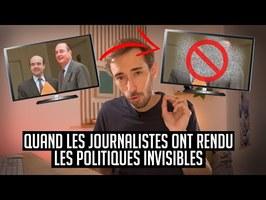 Quand les journalistes ont rendu les politiques invisibles - Une dose de curiosité #6