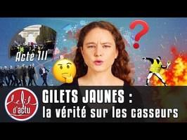 GILETS JAUNES : LA VÉRITÉ SUR LES CASSEURS