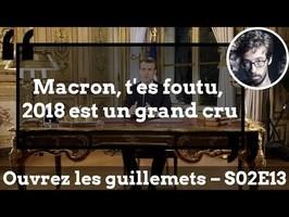 Usul. Macron, t'es foutu, 2018 est un grand cru
