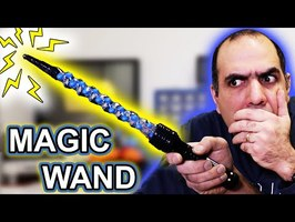 Building an Electric Magic Wand to Celebrate 4 MILLION SUBS