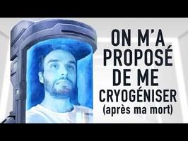On m'a proposé de me cryogéniser après ma mort !