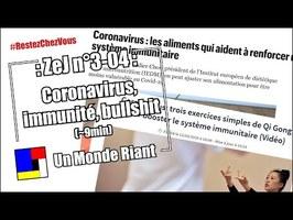 Zététique et journalisme - #3-04 - Coronavirus, immunité, bullshit