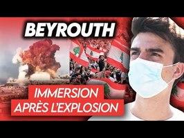 REPORTAGE - Immersion à Beyrouth, en révolution après l'explosion
