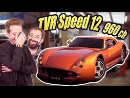 TVR Cerbera Speed 12 : TROP DANGEREUSE POUR ÊTRE VENDUE - Vultech