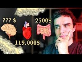 Combien coûte votre corps ?