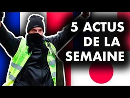 GILETS JAUNES, UNIVERSITÉ & ÉTRANGERS, VIOLENCES FAITES AUX FEMMES, RENAULT... 5 actus de la semaine