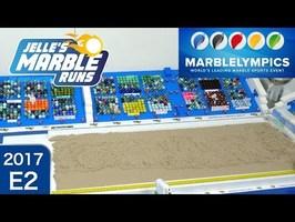Marble Race: Marblelympics 2017 E2: Long Jump