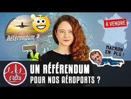 UN RÉFÉRENDUM POUR NOS AÉROPORTS ?