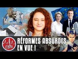 ÉCONOMIE : L'UE FIXE SES RÈGLES, LES FRANÇAIS DEVRONT PAYER