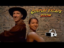 Indiana Jones and Lara Croft in Cosplay Escape Room