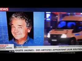 Pierre Perret s'exprime à propos des gilets jaunes