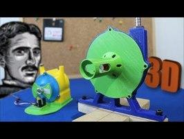 Tesla Turbine v2.0 [3D Printed]