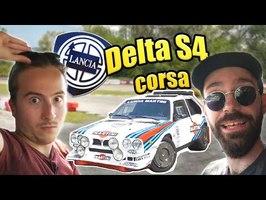 Essai Lancia Delta S4 GROUPE B - LE CERCUEIL ROULANT