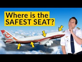Is there a SAFEST SEAT in case of a PLANE CRASH? Explained by CAPTAIN JOE