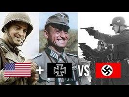 USA + Allemands VS Nazis : Bataille la plus étrange de la 2nd Guerre mondiale (HDG #13)