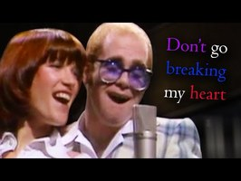Elton John - Don't Go Breaking My Heart - Piano Tutorial