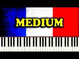 LA MARSEILLAISE (French National Anthem) - Piano Tutorial