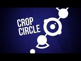 A crop circle in a field ? (Creepy & Cute)