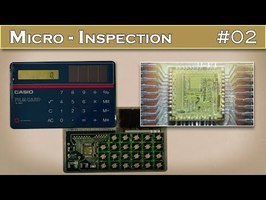 Micro INSPECTION 02 : Décorticage de la plus fine calculatrice du monde