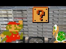Super Mario Bros on FLOPPOTRON