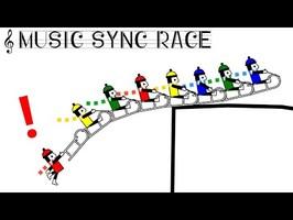 Line Rider Race - Tandem Survival