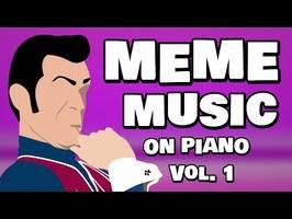Meme Music on Piano Vol. 1 - Full Album