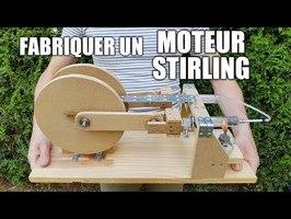 Fabriquer un moteur Stirling
