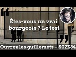 Usul. Êtes-vous un vrai bourgeois ? Le test