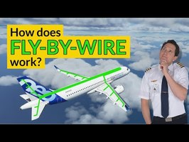How does FLY-BY-WIRE work? The future of flight controls! Explained by CAPTAIN JOE