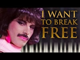Queen - I Want to Break Free - Piano Tutorial