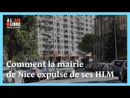 la mairie de Nice expulse des familles de ses HLM