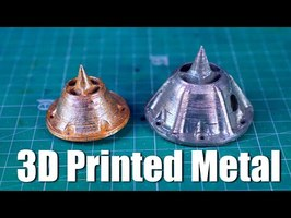 How I 3D Printed a Metal Aerospike Rocket at Home