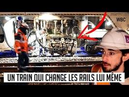 Une dose de curiosité #3 : Un train qui change lui même les rails en roulant !