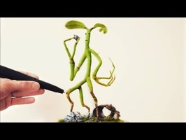 3D Pen | Making Pickett Bowtruckle Sculpture | Fantastic Beasts: The Crimes Of Grindelwald Art