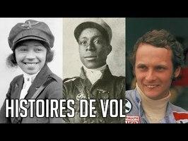 🔊✈️ 3 Histoires de Vol - Eugène Bullard, Bessie Coleman, Niki Lauda